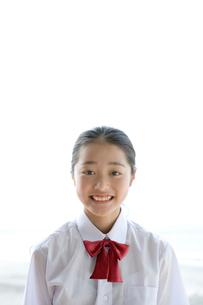 女の子のポートレイトの写真素材 [FYI03212394]