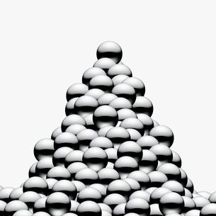 山積みのパチンコ玉のイラスト素材 [FYI03213544]