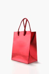 赤い袋の写真素材 [FYI03213552]