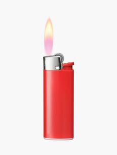 ライターの火の写真素材 [FYI03213574]