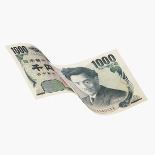 千円札の写真素材 [FYI03213580]