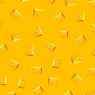 チーズのパターンのイラスト素材 [FYI03213742]