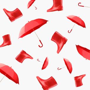 傘のパターンの写真素材 [FYI03213772]
