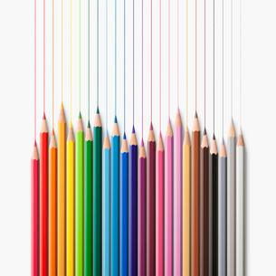 色鉛筆の写真素材 [FYI03213801]