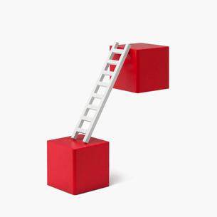積み木とはしごの写真素材 [FYI03213802]