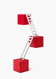 積み木とはしごの写真素材 [FYI03213807]