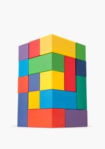 積み木のタワーの写真素材 [FYI03213815]