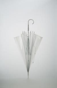 立つビニール傘の写真素材 [FYI03214059]