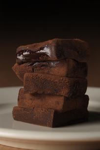 溶けている生チョコの写真素材 [FYI03214067]