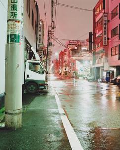 東京の街並の写真素材 [FYI03214174]