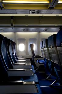 飛行機の座席の写真素材 [FYI03214350]