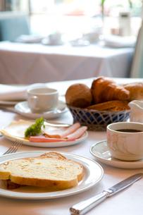 ホテルの朝食の写真素材 [FYI03214558]