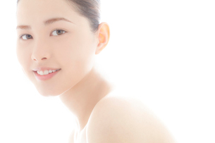 10代日本人女性のビューティーの写真素材 [FYI03214944]
