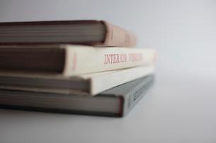 ハードカバーの洋書の写真素材 [FYI03215197]