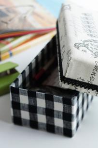布の箱の写真素材 [FYI03215227]