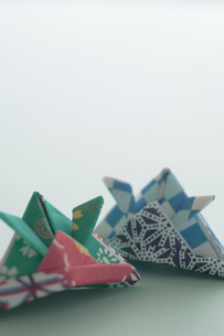 兜の折り紙の写真素材 [FYI03215293]