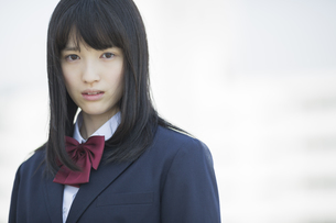 日本人の女子高生の写真素材 [FYI03215518]