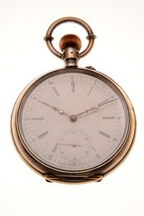 懐中時計(アップ)の写真素材 [FYI03215905]