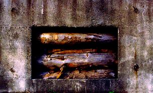 木材廃棄場の写真素材 [FYI03215923]