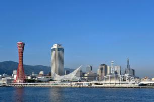 神戸港ハーバーランド風景の写真素材 [FYI03215992]