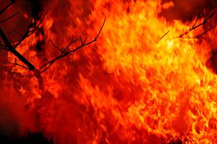 炎のイメージの写真素材 [FYI03216019]