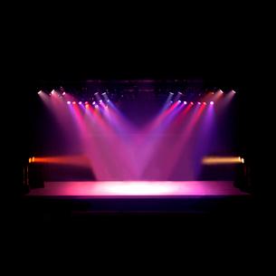 舞台と照明の写真素材 [FYI03216123]