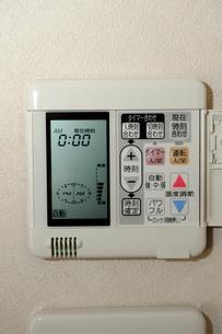 床暖房の電源の写真素材 [FYI03216223]