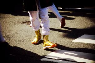 金の地下足袋の写真素材 [FYI03216300]