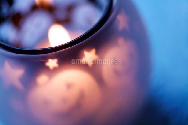 ハロウィンのロウソクの写真素材 [FYI03216389]