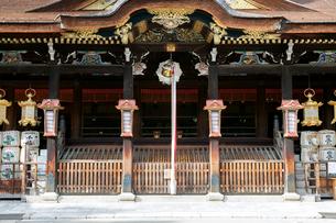 北野天満宮の社殿の写真素材 [FYI03216750]