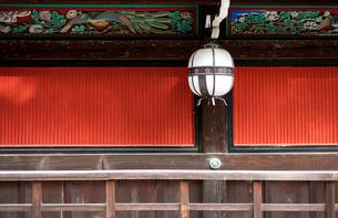 北野天満宮の灯篭の写真素材 [FYI03216754]