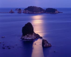 月光の紀の松島の写真素材 [FYI03216842]