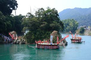 古座川の河内祭りの写真素材 [FYI03217027]