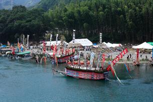古座川の河内祭りの写真素材 [FYI03217035]