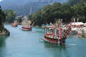 古座川の河内祭りの写真素材 [FYI03217036]