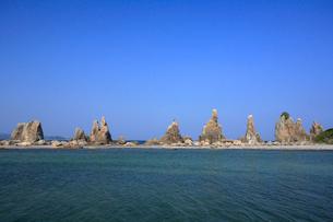 橋杭岩の写真素材 [FYI03217056]