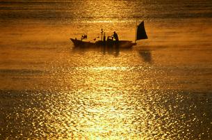田原の海霧の写真素材 [FYI03217077]