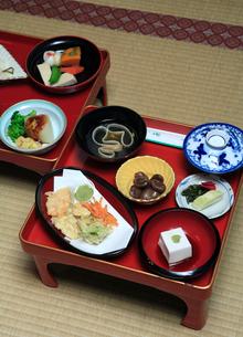 高野山普賢院の精進料理の写真素材 [FYI03217126]