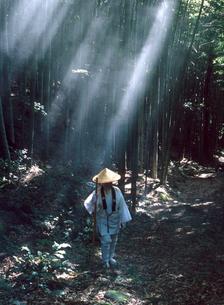 熊野古道伊勢路の大吹峠と西国巡礼の写真素材 [FYI03217241]