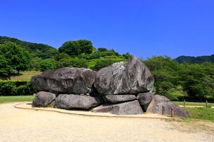 石舞台古墳の写真素材 [FYI03217394]