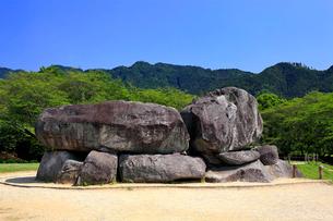 石舞台古墳の写真素材 [FYI03217395]