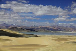 チベットの砂漠の写真素材 [FYI03219566]