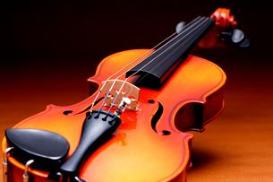 バイオリンを斜から見たの写真素材 [FYI03219933]
