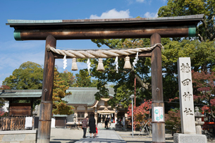 龍田神社の写真素材 [FYI03220506]