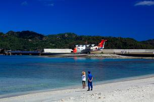 前浜 水上飛行艇の写真素材 [FYI03220822]