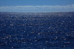 輝く海 父島の写真素材 [FYI03220893]