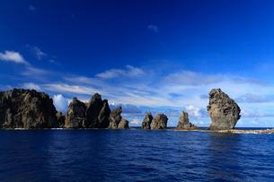 針の岩 聟島列島の写真素材 [FYI03221250]