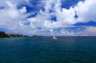 聟島 針の岩 海の写真素材 [FYI03221341]