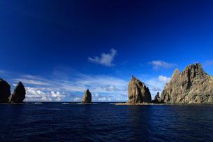 針の岩 聟島列島の写真素材 [FYI03221350]