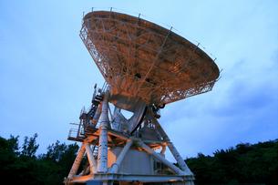 国立天文台VERA小笠原観測局 天文広域精測望遠鏡の写真素材 [FYI03221614]